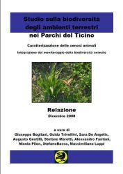 Ricerca Biodiversità Parco Ticino – Relazione 2008