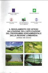 Valutazione applicazione del Programma agroambientale della Regione Lombardia, 1999
