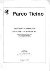 Indagini Microbiologiche sulle acque del fiume Ticino, 1999 (NON PUBBLICATO)
