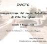 Inaugurazione nuovo InfoPoint di Villa Castiglioni