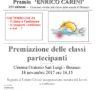 XIX edizione premio Enrico Carini