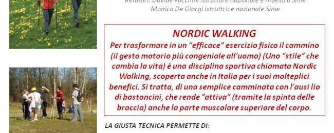 Nordic walking…a lezione nel Parco