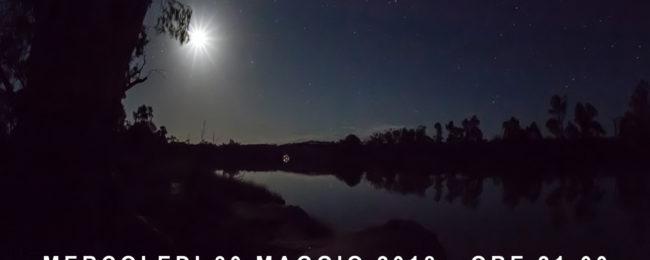 Meditazione nel Parco del Ticino con la luna piena
