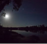 Yoga e meditazione al chiaro di luna