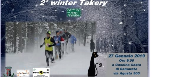 Winter Takery seconda edizione